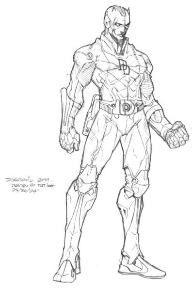 Daredevil  24 (superhéroes) – Páginas Para Colorear