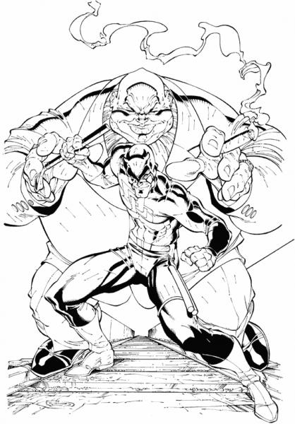Daredevil  27 (superhéroes) – Páginas Para Colorear