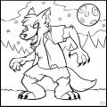Figuras De Lobos Para Colorear