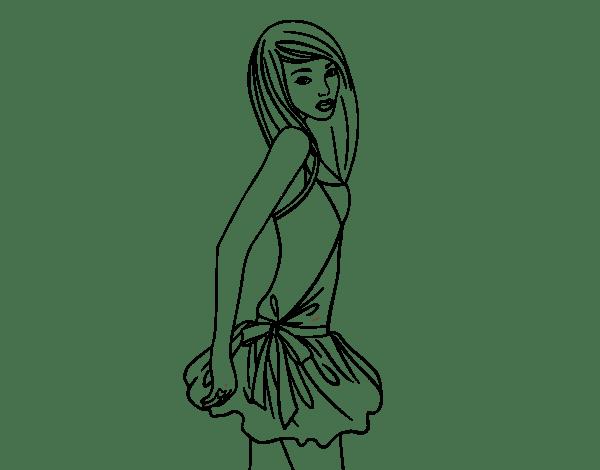 Maniquí  8 (ocupaciones) – Páginas Para Colorear