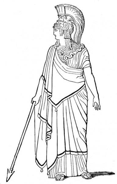 Mitología Romana  15 (dioses Y Diosas) – Páginas Para Colorear