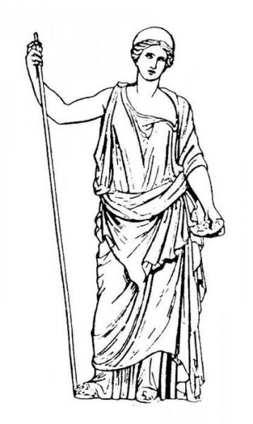 Mitología Romana  66 (dioses Y Diosas) – Páginas Para Colorear