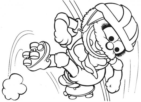 Muppets  42 (dibujos Animados) – Páginas Para Colorear