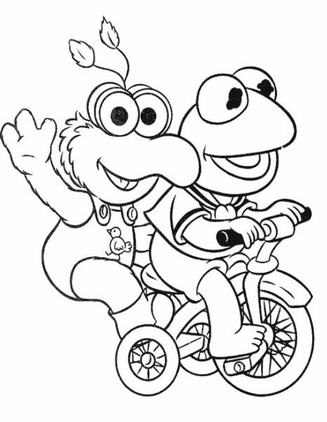 Muppets  49 (dibujos Animados) – Páginas Para Colorear