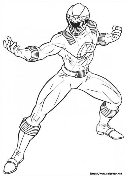 Power Rangers  28 (superhéroes) – Páginas Para Colorear