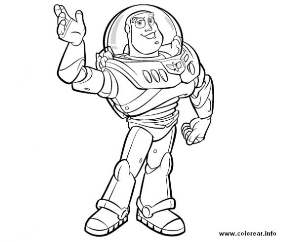 Toy Story  236 (películas De Animación) – Páginas Para Colorear