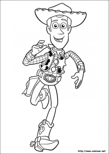 Toy Story  25 (películas De Animación) – Páginas Para Colorear