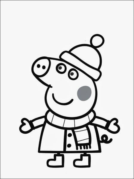 Dibujos Para Colorear Online Peppa Pig  Colorear  Dibujos