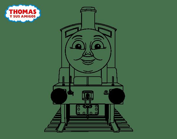 Dibujo De Edward De Thomas Y Sus Amigos Para Colorear