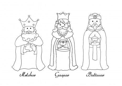 Dia De Reyes Para Colorear Gif14