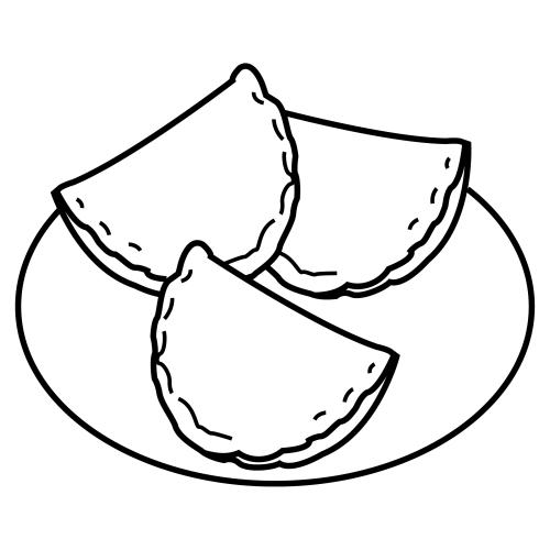 Empanadas Dibujo Png