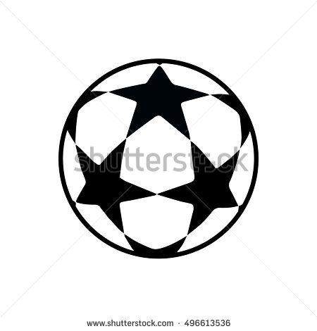 Soccer Ball  Football Ball  Match Ball  Soccer Stars Ball Icon