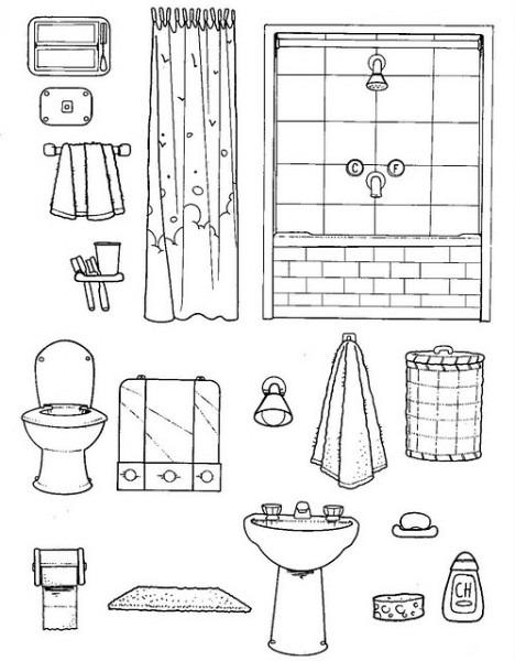 Dibujos Para Colorear Debaños