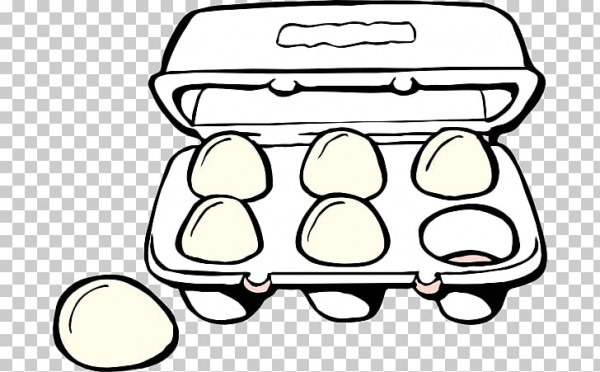 Huevo Frito Huevo Cocido, Desayuno, Cartón  Png Clipart
