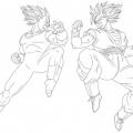 Dibujos De Goku Para Colorear E Imprimir
