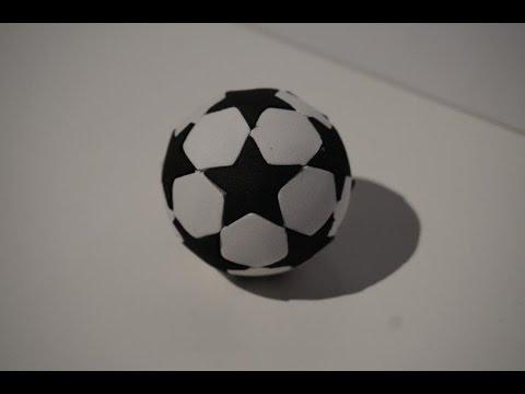 Como Hacer Un Balon De La Champions Para Fofuchas