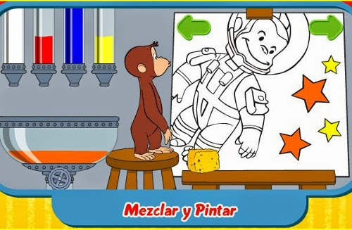 Juegos De Colorear A Jorge El Curioso Online Gratis