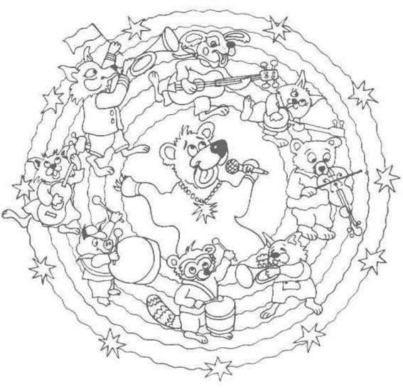 14 Mandalas Para Colorear De Disney – Mandalas Para Colorear