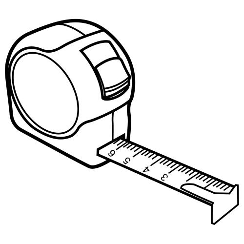 Dibujo De Un Metro Lineal Para Colorear