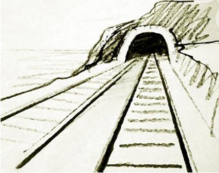 Tunel Para Colorear