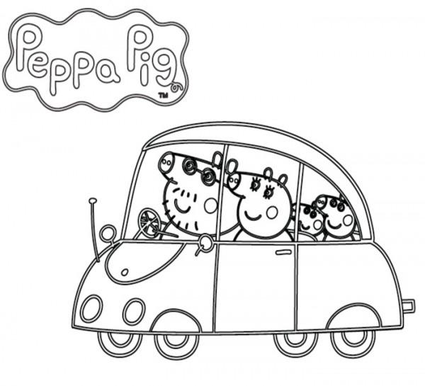 ▷ Dibujos De Peppa Pig Para Imprimir Y Colorear ⇒ ¡gratis!®