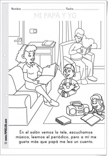 Recursos Didácticos Para Imprimir, Ver, Leer  Día Del Padre