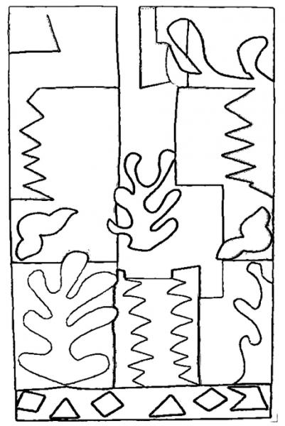Posters De Matisse Para Colorear, Ii