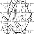 Puzzles De Animales Para Colorear