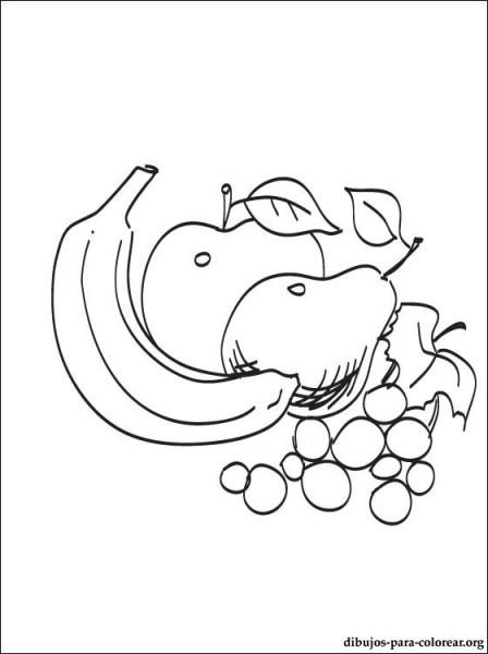 Dibujo De Frutas De Verano Para Imprimir