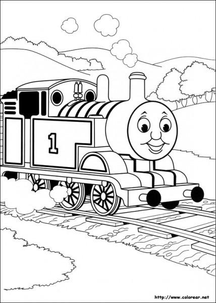 Dibujos Para Colorear De Thomas Y Sus Amigos