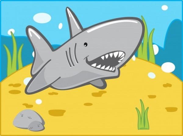 ▷▷ 【 TiburÓn Blanco Dibujo】 【 ¡tipos De Tiburones🦈 ! 】