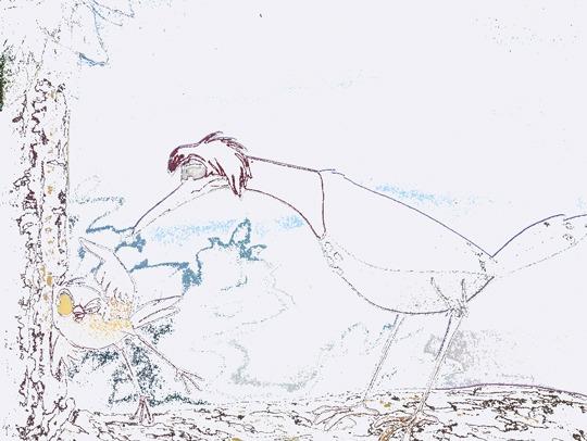 Dibujos Para Colorear  Tod Y Toby De Walt Disney
