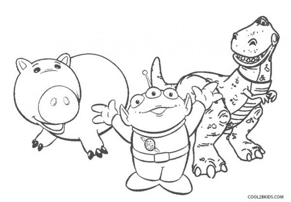Dibujos De Toy Story Para Colorear