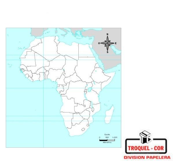 Mapa Político Nº5 Africa