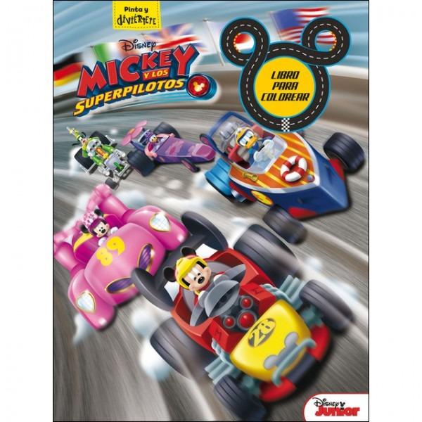 Pdf Descargar Mickey Y Los Superpilotos  Libro Para Colorear