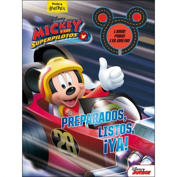 Pdf Libro Mickey Y Los Superpilotos  Libro Para Colorear
