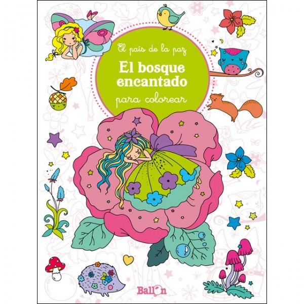 El Bosque Encantado Para Colorear Libro Pdf Descargar Gratis