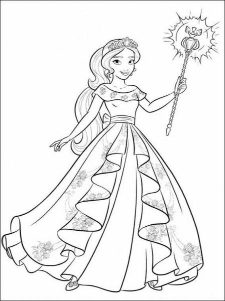 Dibujos Para Niños Para Imprimir Elena De Avalor 8