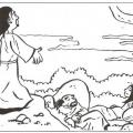 Dibujos Para Colorear De La Muerte De Jesus