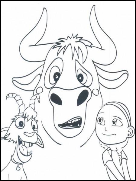 Dibujos Para Colorear  Dibujos Para Imprimir Y Pintar Ferdinand 25