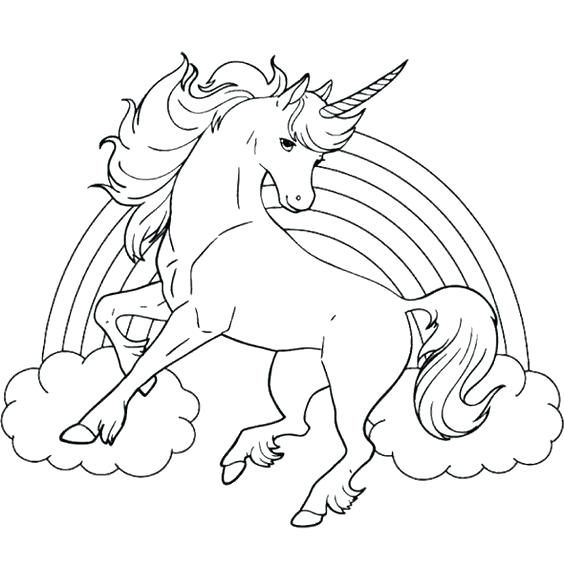 Dibujos De Unicornio Para Colorear Para Dibujos De Unicornios
