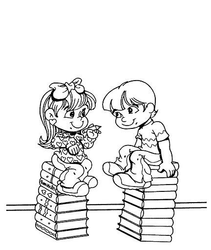Libros Con NiÑos Para Colorear