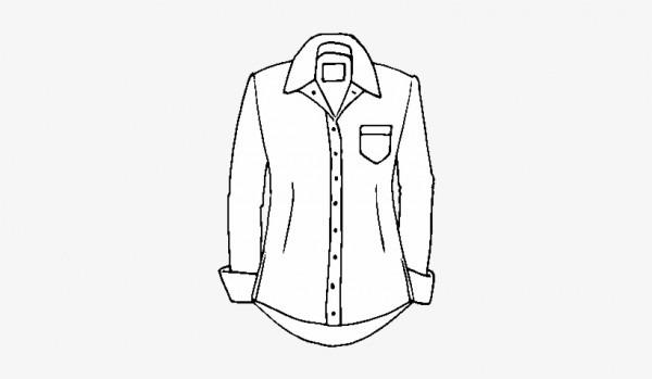 Dibujo De Una Camisa Para Colorear