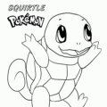 Pokemon Para Colorear Squirtle