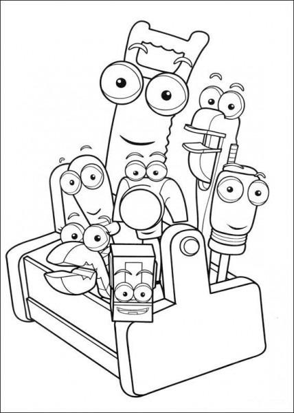 Dibujos Para Colorear Para Niños Manny Manitas 11