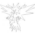 Pokemon Articuno Para Colorear