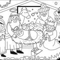 Colorear Dibujos De Los Reyes Magos