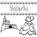 Valeria Para Colorear
