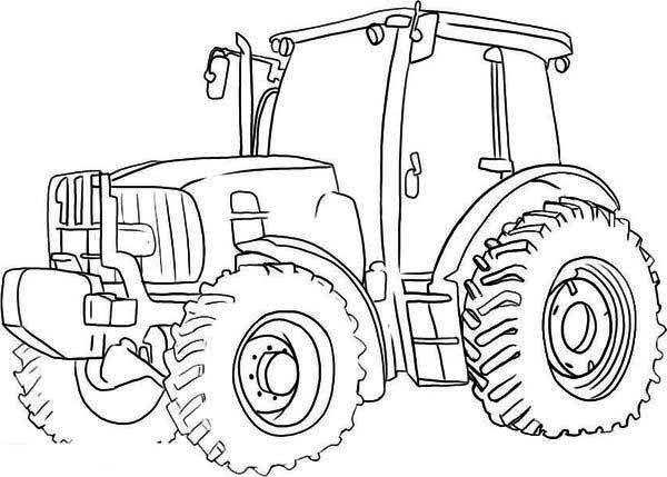 Resultado De Imagen De Kleurplaat Tractor