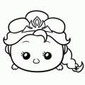 Dibujos De Colorear De Elsa